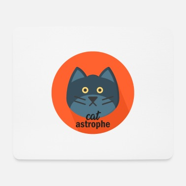 Officialbrands A real Catastrophe Cat T-Shirt - Mousepad (Querformat)