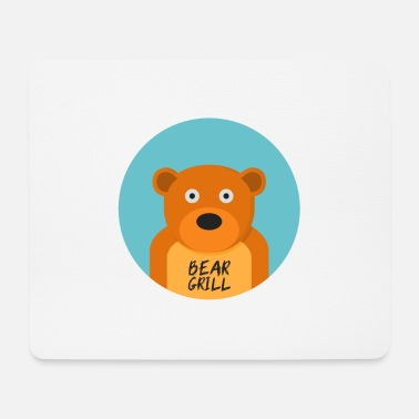 Officialbrands Bear Grill T-Shirt - Mouse Pad