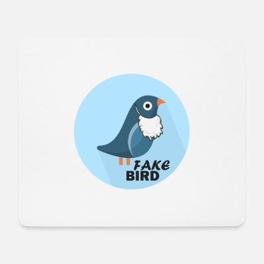 Officialbrands Fake News Bird T-Shirt - Mousepad (Querformat)