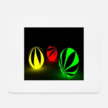 Miscellaneous 3 colorful neon balls - Mouse Pad