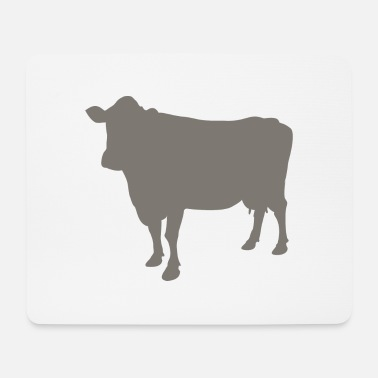 Skull cow - Mouse Pad