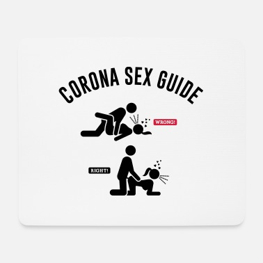 Sex FUNNY CORONA SEX GUIDE - Mouse Pad