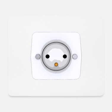 Socket Socket, wall socket, power supply - Mouse Pad