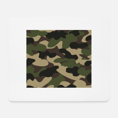 Camoflage mouthpiece 001 - Mouse Pad