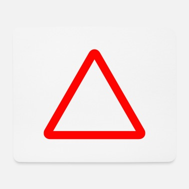Kyltti Triangle Warning Sign - Mouse Pad