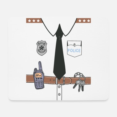 Uniform Funny Cute Uniform - Mouse Pad