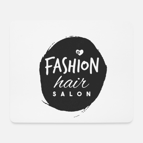 Birthday Mouse Pads - hair stylist - Mouse Pad white