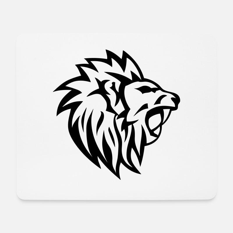 Lion Tribal Tatouage Dessin 14 Tapis De Souris Spreadshirt