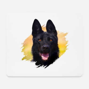 German Black shepherd - Mouse Pad