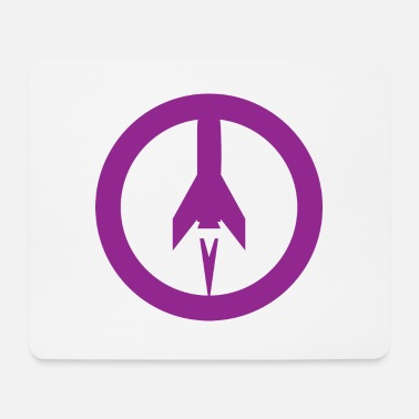 Missile Missile+peace - Mouse Pad