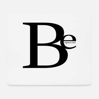 Specially Be special - Mouse Pad