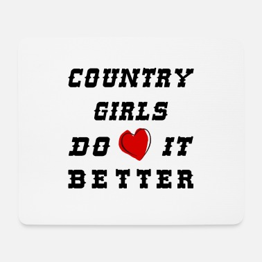 Country country girls - Mousepad