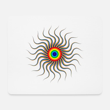 Optical Illusion Optical illusion - Mouse Pad