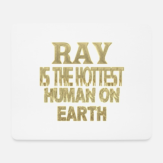 Ray Hot Mouse Pads - ray - Mouse Pad white