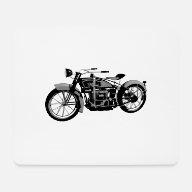 1924 Ace 1924 classic motor bike - Mouse Pad
