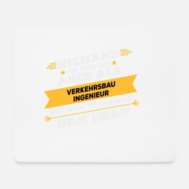 Transportation engineer profession - Mouse Pad