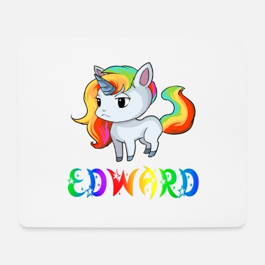 Edward Edward unicorn - Mouse Pad