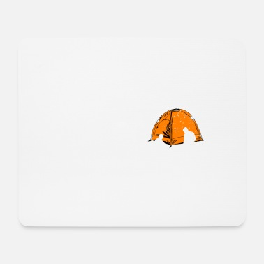 Outdoor Camping outdoor gift outdoor tent - Mouse Pad