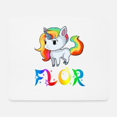 Flor Unicorn Flor - Mouse Pad
