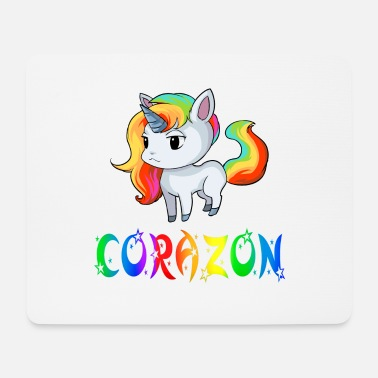 Corazon Einhorn Corazon - Mousepad