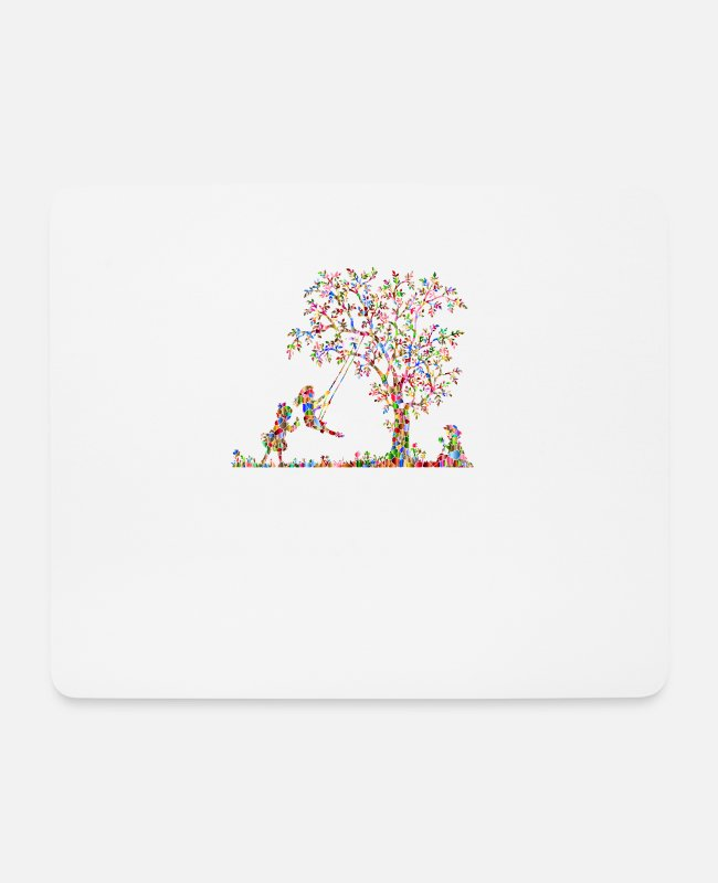 Play Mouse Pads - Children players - Mouse Pad white