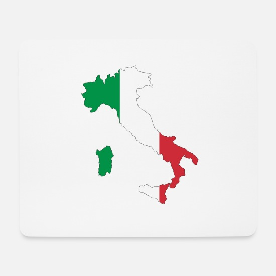 Country Mouse Pads - Italy - Italy - Country - Mouse Pad white