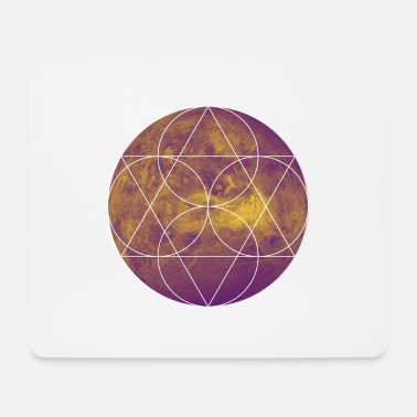 Minimum Mars Duotone Hipster minimum Shirt Design - Mousepad (bredformat)