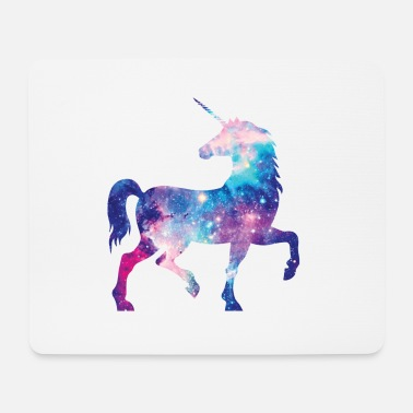 Unicorn with constellation design - Mouse Pad