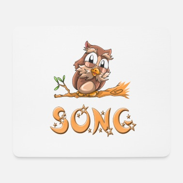 Song Owl song - Mouse Pad