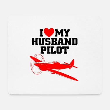 Cprice husband pilot - Mouse Pad