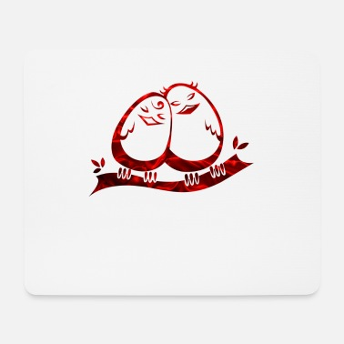 Two eggs in love - Mouse Pad