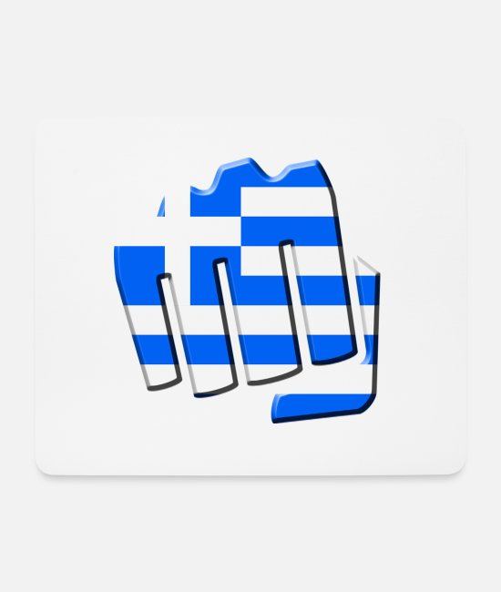 Patriot Mouse Pads - Greece - Mouse Pad white