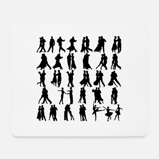 Dancer Mouse Pads - Dance - Mouse Pad white