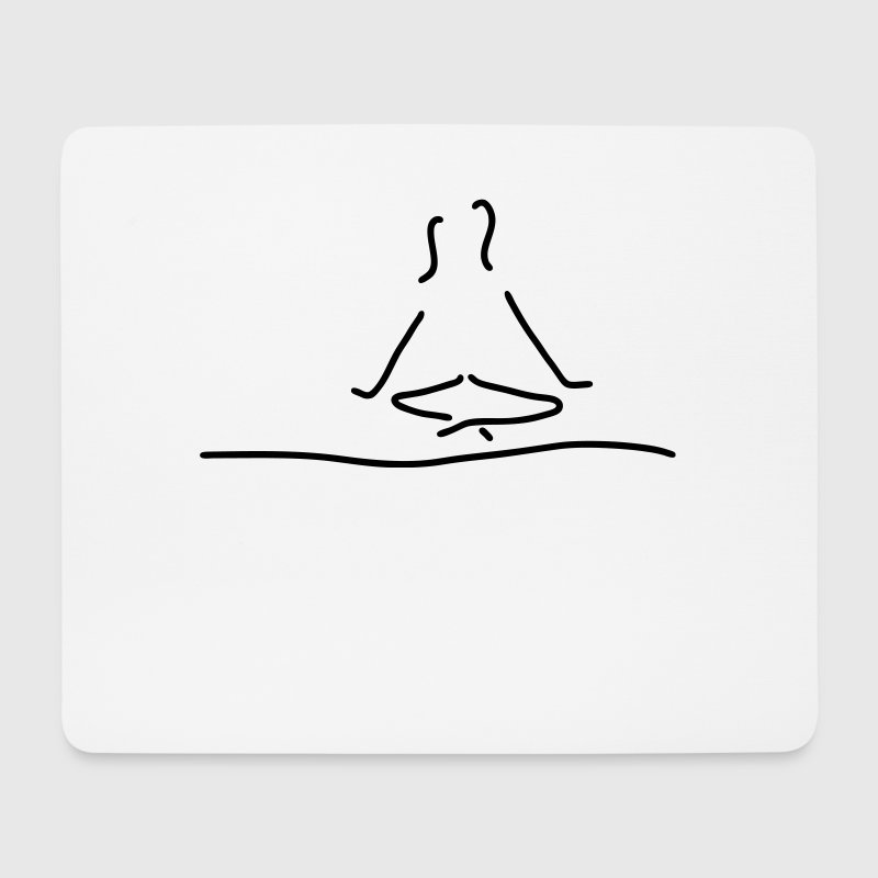 yoga meditation - Mousepad (Querformat)