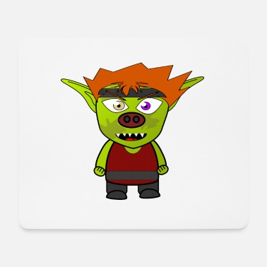 Cartoon Character Cartoon character - Mouse Pad