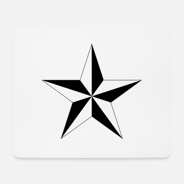 Nautical Nautical star - Mouse Pad
