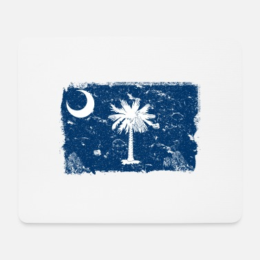 South Carolina South Carolina Vintage Flagge - Mousepad