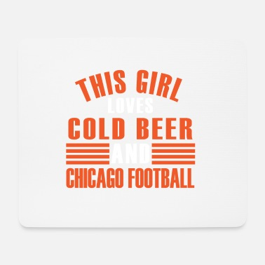 Chicago football - Mousepad (Querformat)