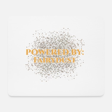 Fairy Tale Figure Fairy Tale: Powered by Fairydust - Fairy dust - Mouse Pad