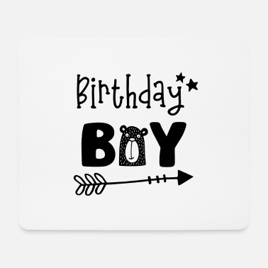 Birthday Party Birthday Boy - Boys Birthday Birthday Party - Mouse Pad