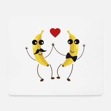 Funny &amp The Bananas lovers - Mouse Pad