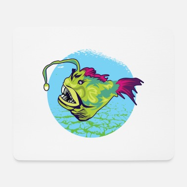 Predatory Fish Frogfish predatory fish of the deep sea gift - Mouse Pad