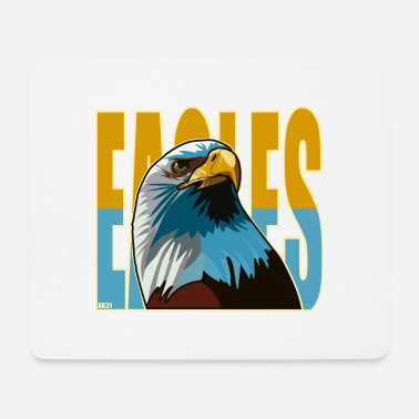 Eagle head - Mouse Pad
