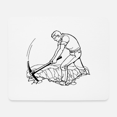 Worker worker - Mouse Pad