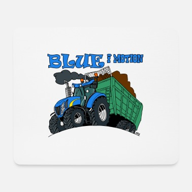 Motion Blue in motion - Mouse Pad