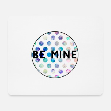 Neon Be mine - Mousepad (Querformat)