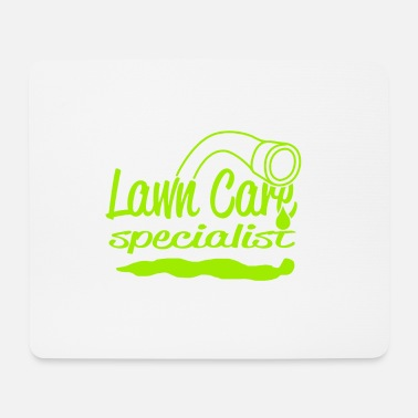 Wiese lawn care - Mousepad (Querformat)