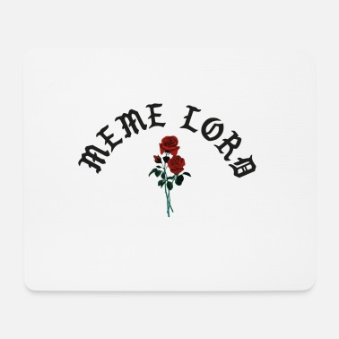 Underground Meme lord rose - Mousepad (Querformat)