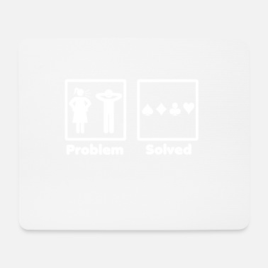 Poker problem solved poker pokern - Mousepad (Querformat)