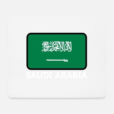 Arabien National Flag Of Saudi Arabia - Musmatta (liggande format)